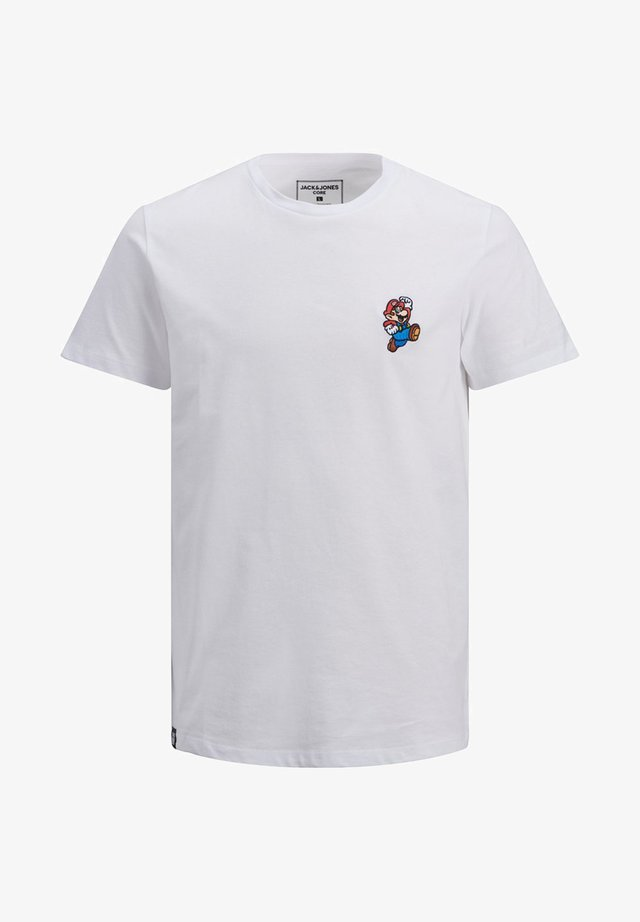 SUPER MARIO - T-shirts print - white