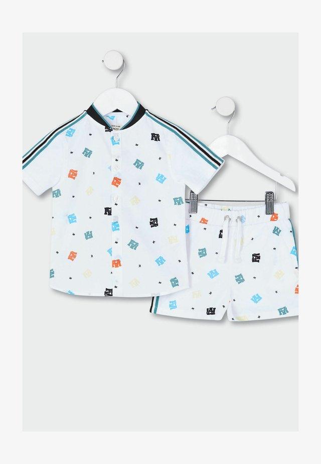 SET - T-shirt imprimé - white