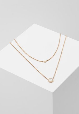 CLASSICS - Collana - roségold-coloured