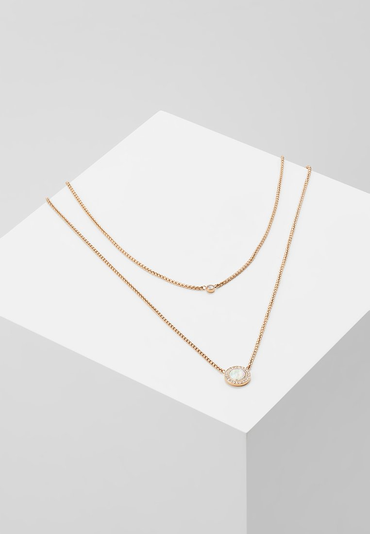 Fossil - CLASSICS - Necklace - roségold-coloured