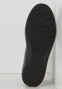 ECCO - SOFT  - Lace-up ankle boots - black/black - 4