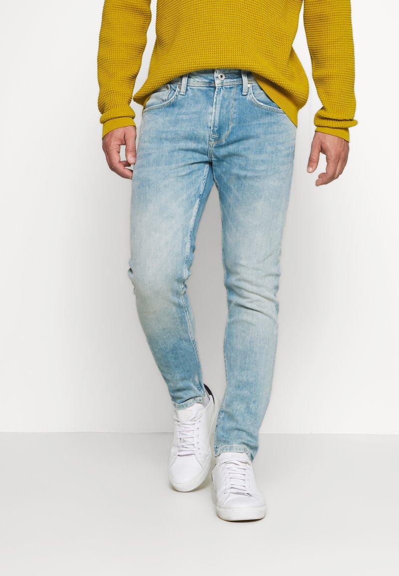 Pepe Jeans - FINSBURY - Slim fit jeans - light-blue denim