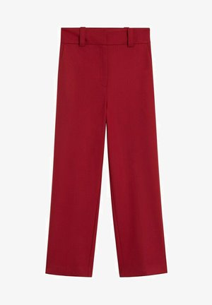 CANAS-I - Trousers - donkerrood