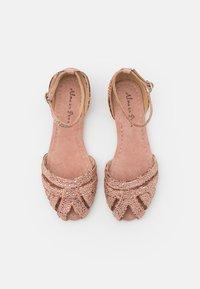 Alma en Pena - Peeptoe ballet pumps - old pink - 5
