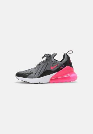 AIR MAX 270 - Sneakers laag - smoke grey/hyper pink/black/white