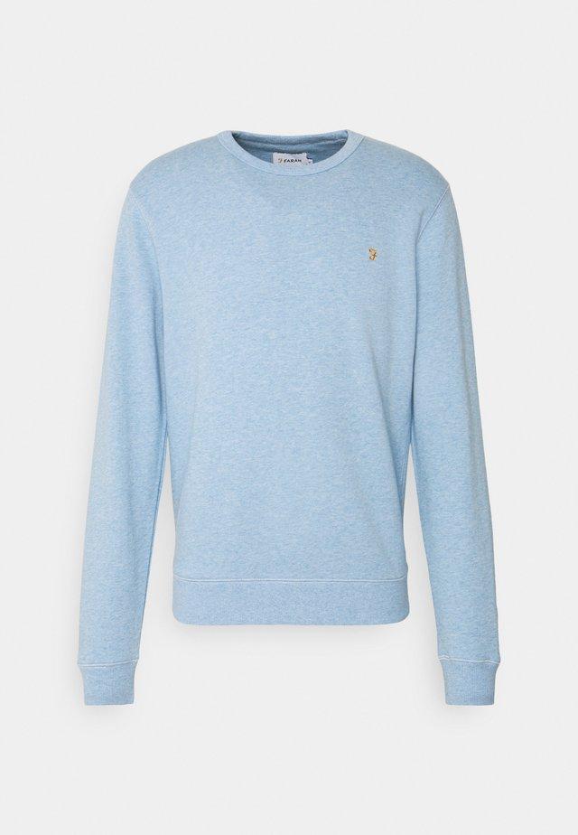 TIM CREW - Sweatshirt - farah azure marl