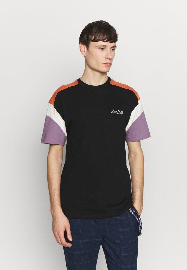 OTTAWA UNISEX - Print T-shirt - black