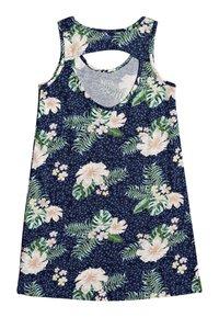 Roxy - Jersey dress - mood indigo animalia s - 1