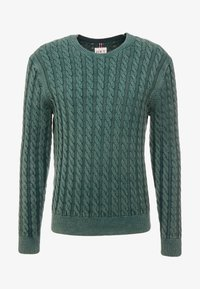HKT by Hackett - CABLE CREW - Strikkegenser - dark green - 3