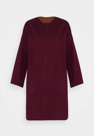 VEZZOSO - Classic coat - pflaume