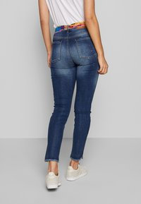 Desigual - RAINBOW - Slim fit jeans - denim dark blue - 2
