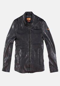 Emilio Adani - Leather jacket - schwarz - 7