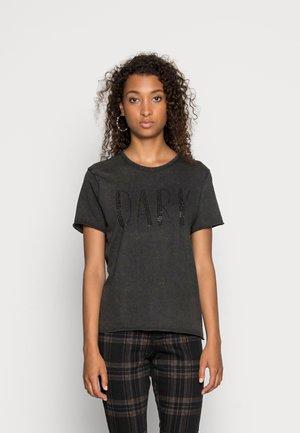 ONLLUCY LIFE BLING BOX - T-shirt print - black
