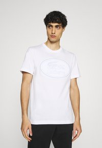 Lacoste - Print T-shirt - white - 0