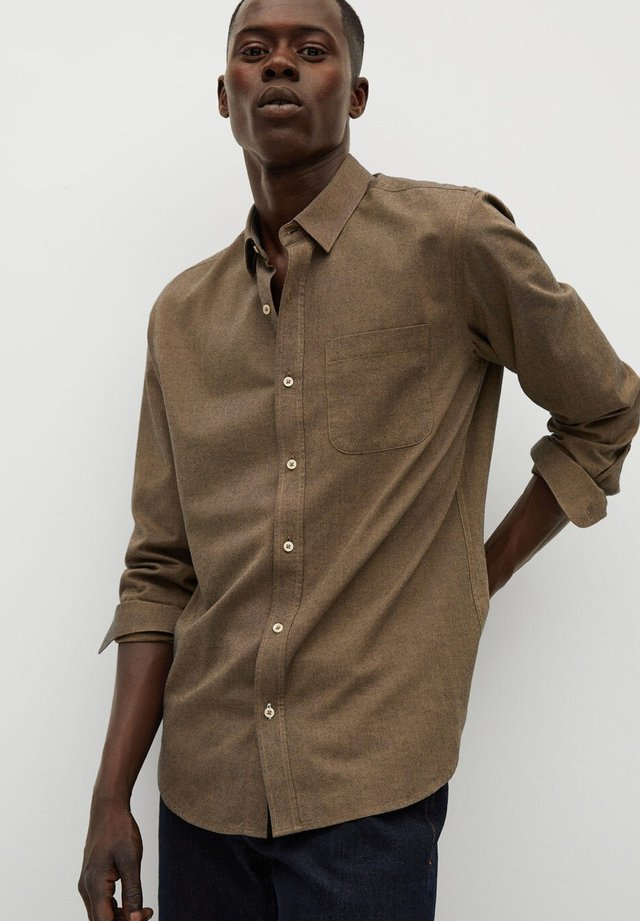 TWILL - Shirt - brown