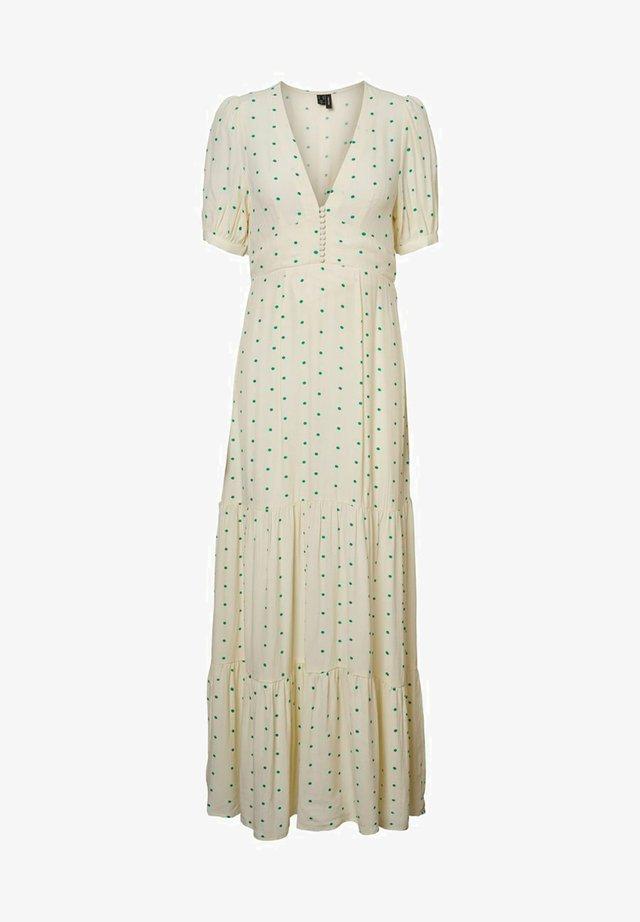 GEPUNKTETES - Maxi dress - birch