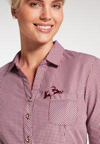 Spieth & Wensky - Button-down blouse - dunkelrot - 2