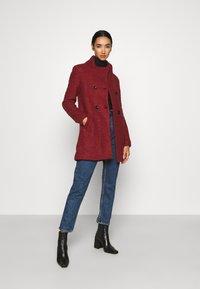 ONLY - SOPHIA - Zimní kabát - fired brick/melange - 1