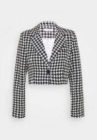 GEMMA STRIPE - Blazer - black/white