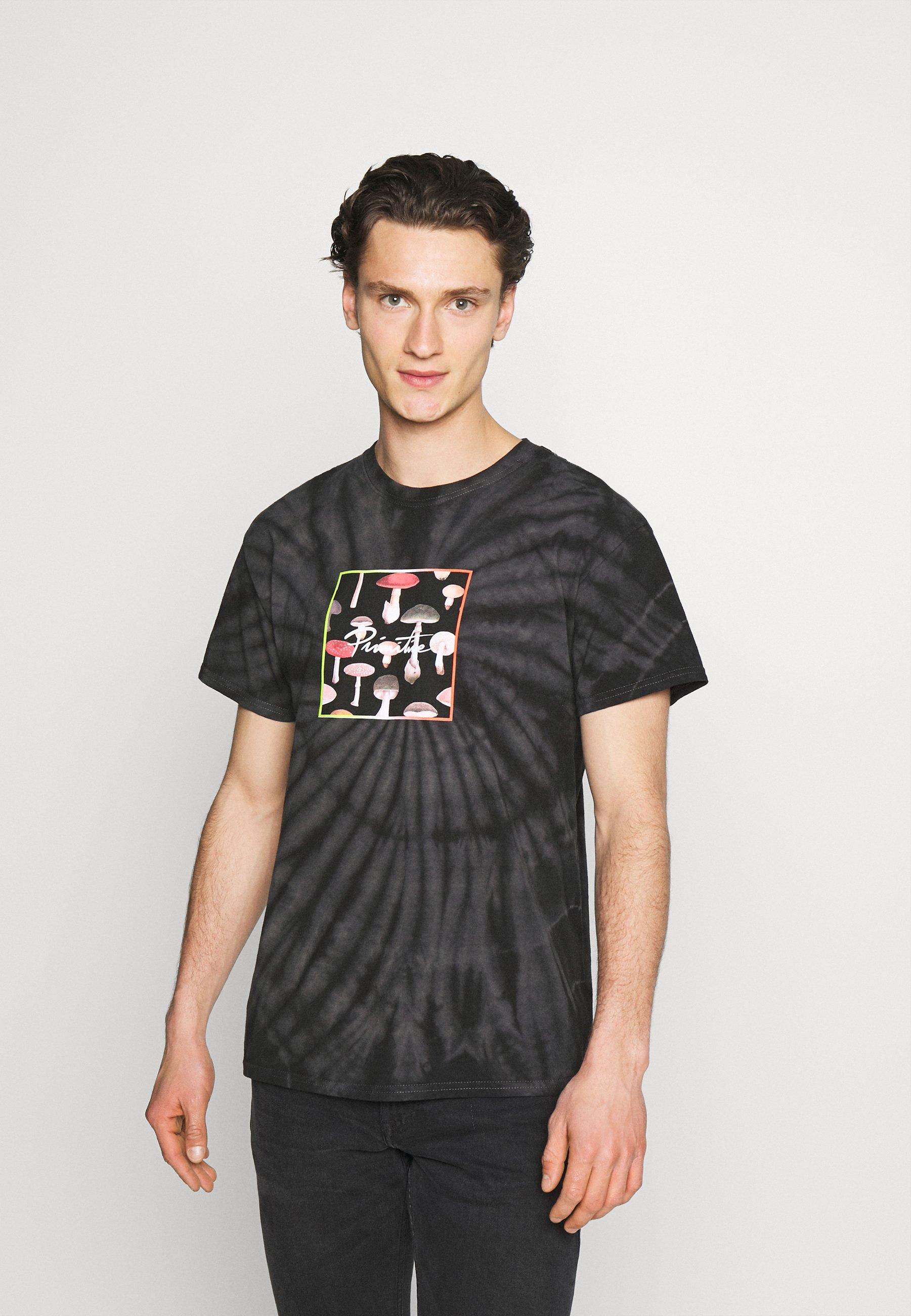 Men FUNGI BOX TIE DYE TEE - Print T-shirt