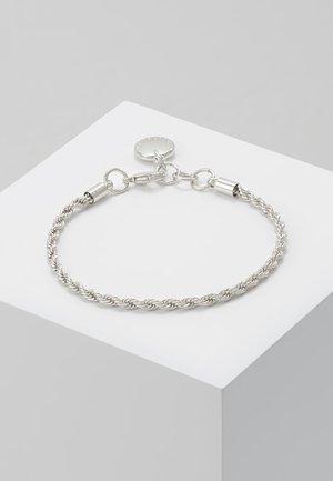 HEGE BRACE SINGLE - Rannekoru - plain silver-coloured