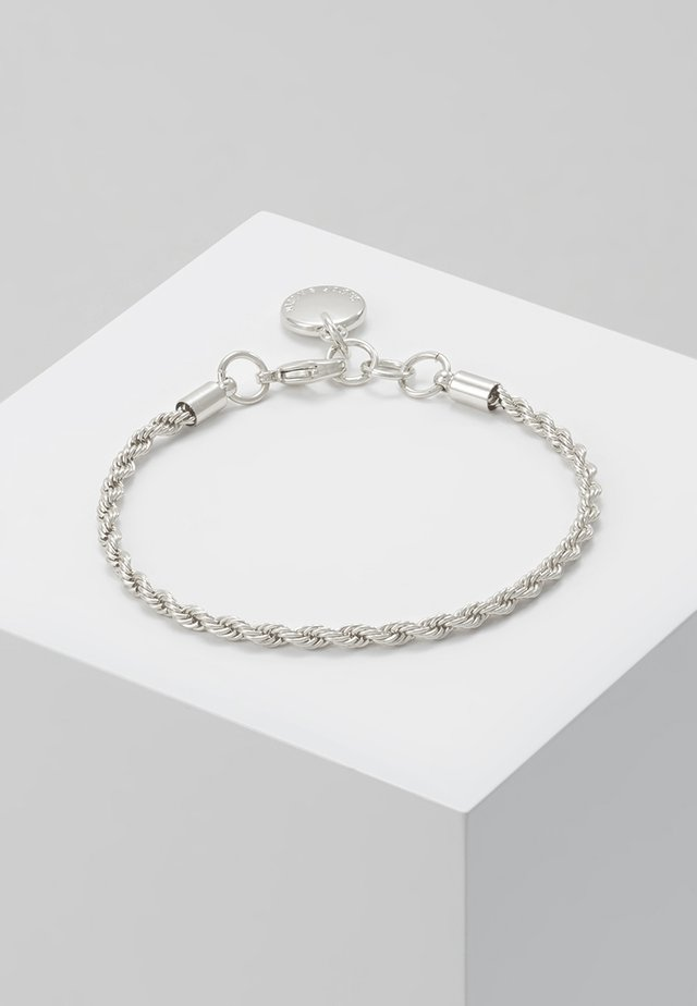 HEGE BRACE SINGLE - Bracelet - plain silver-coloured