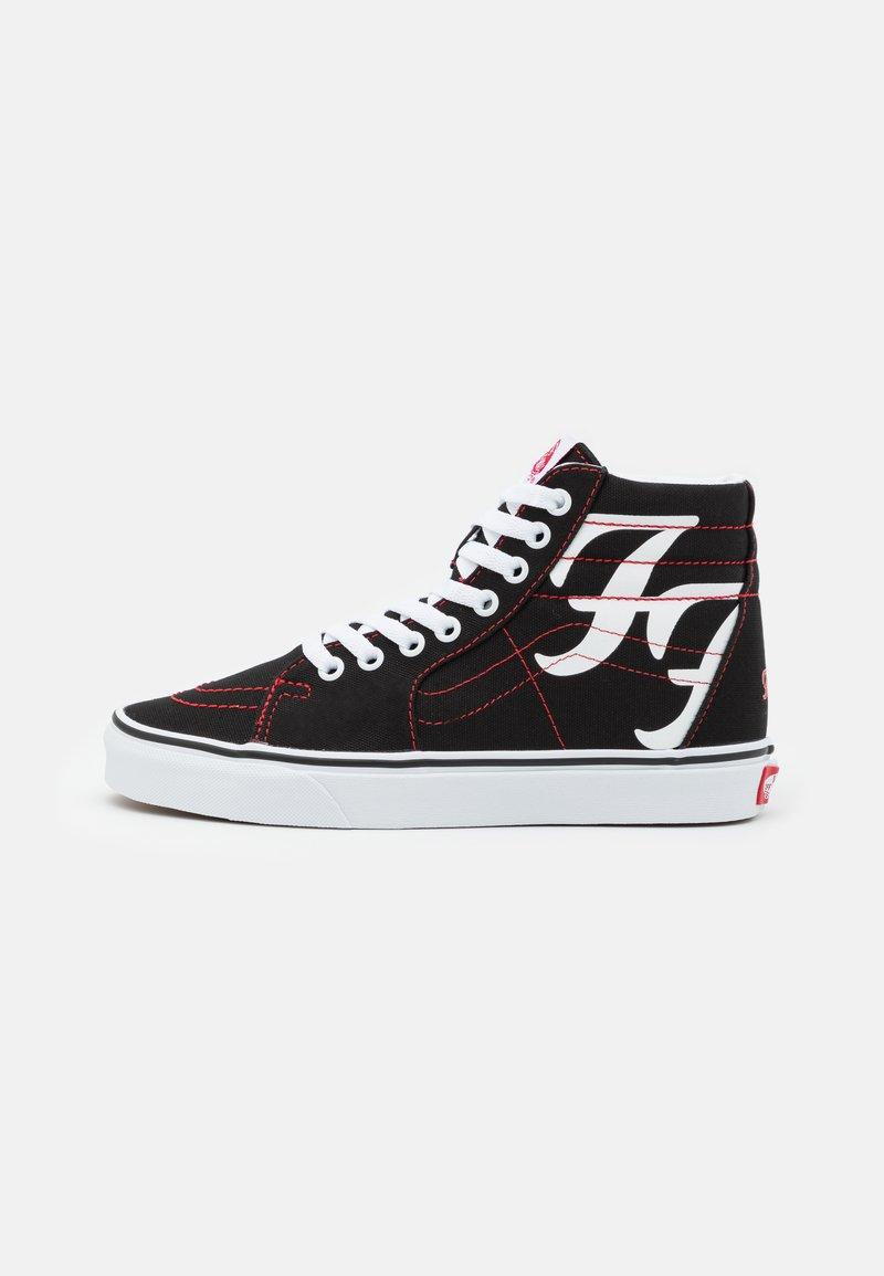 Vans - SK8 HI FOO FIGHTERS UNISEX - Höga sneakers - black/white