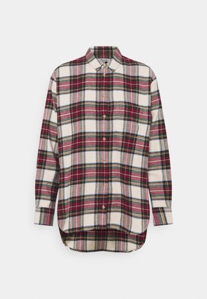 HOLIDAY PLAID - Bluser - red