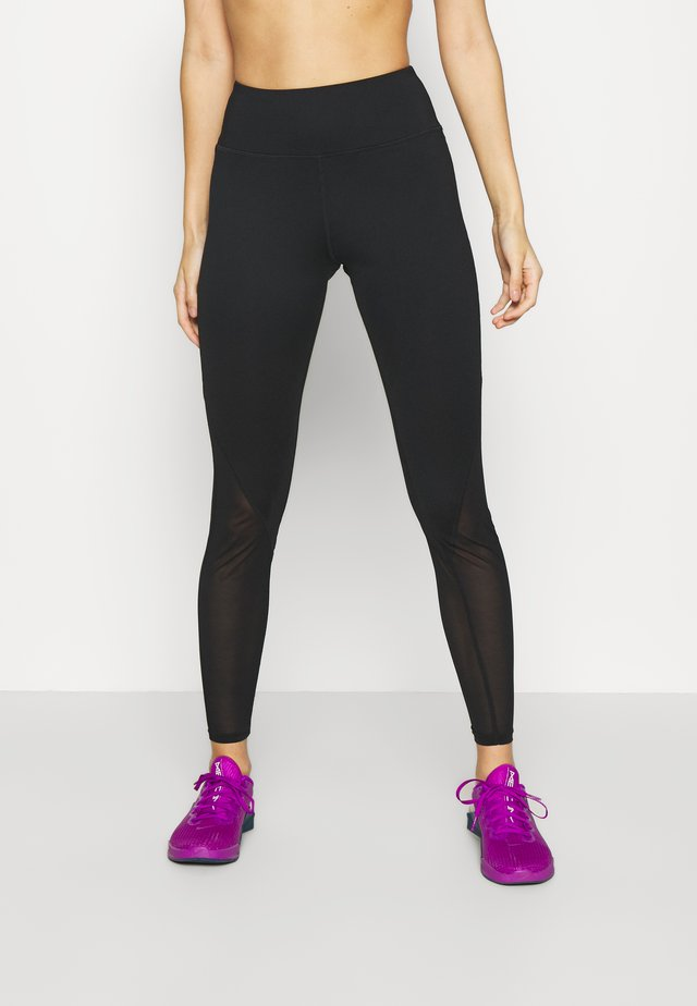 PANEL LEGGINGS CORE - Leggings - black