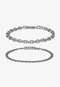 GRAHAM COMBO 2 PACK  - Armbånd - silver-coloured