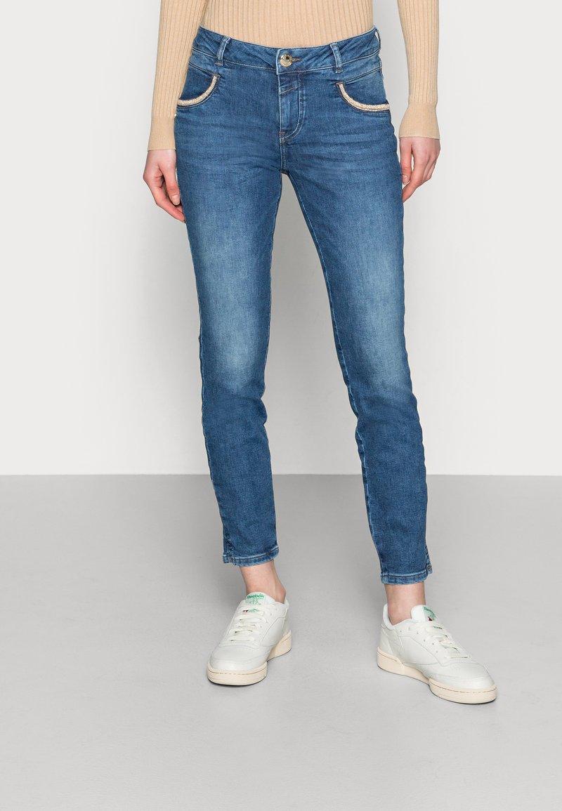 Mos Mosh - ROW - Jeans Skinny Fit - blue