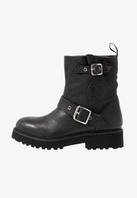 Blauer - IRVINE - Cowboy/biker ankle boot - black - 1