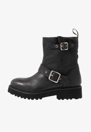 IRVINE - Cowboy/biker ankle boot - black