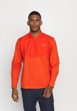 CLOUDSPUN ZIP - Sweatshirt - pureed pumpkin heather
