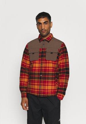 ALSTEAD - Fleece jacket - burgundy