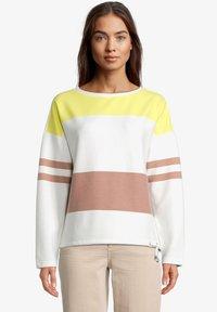 Betty & Co - Sweatshirt - cream/yellow - 0