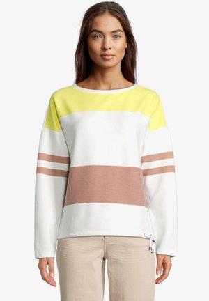 Sweatshirt - cream/yellow