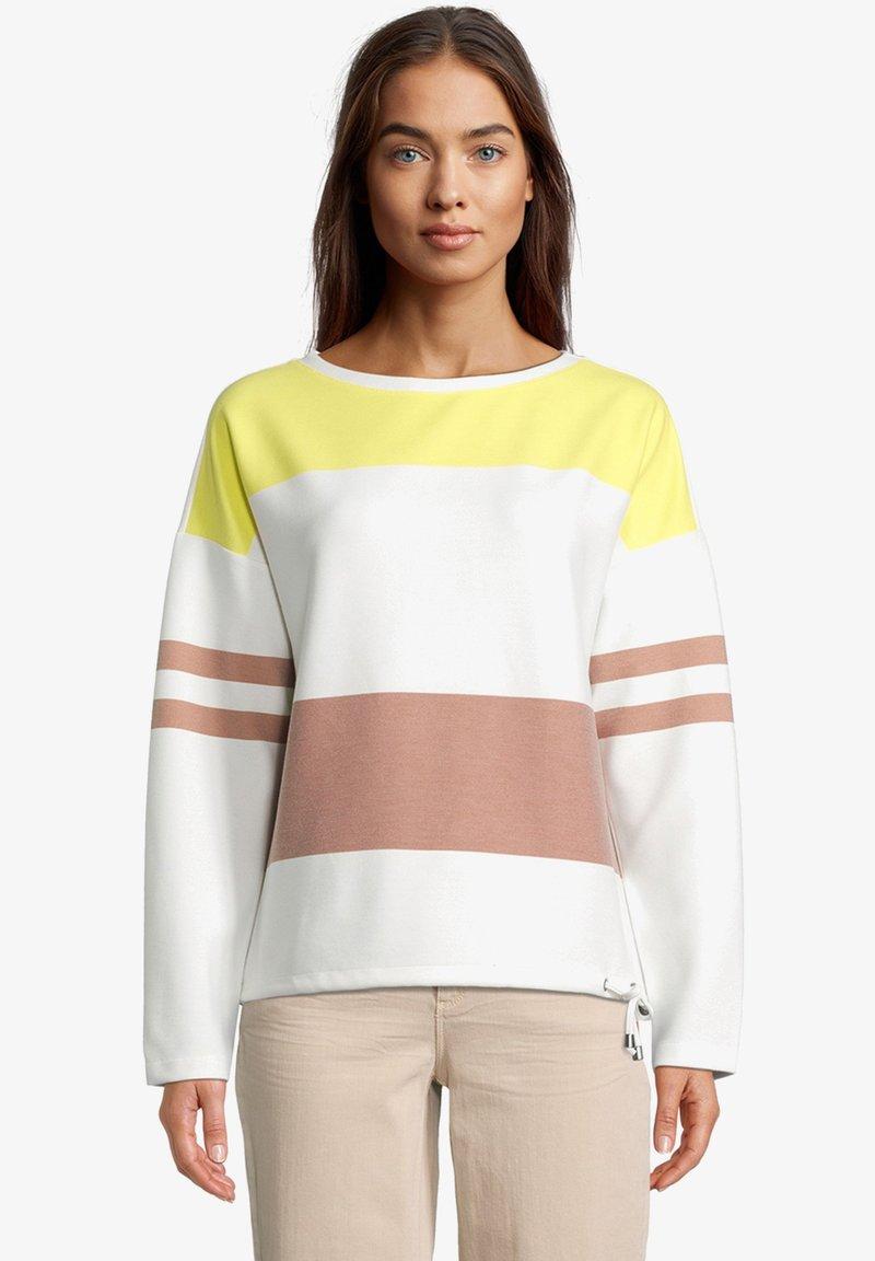 Betty & Co - Sweatshirt - cream/yellow