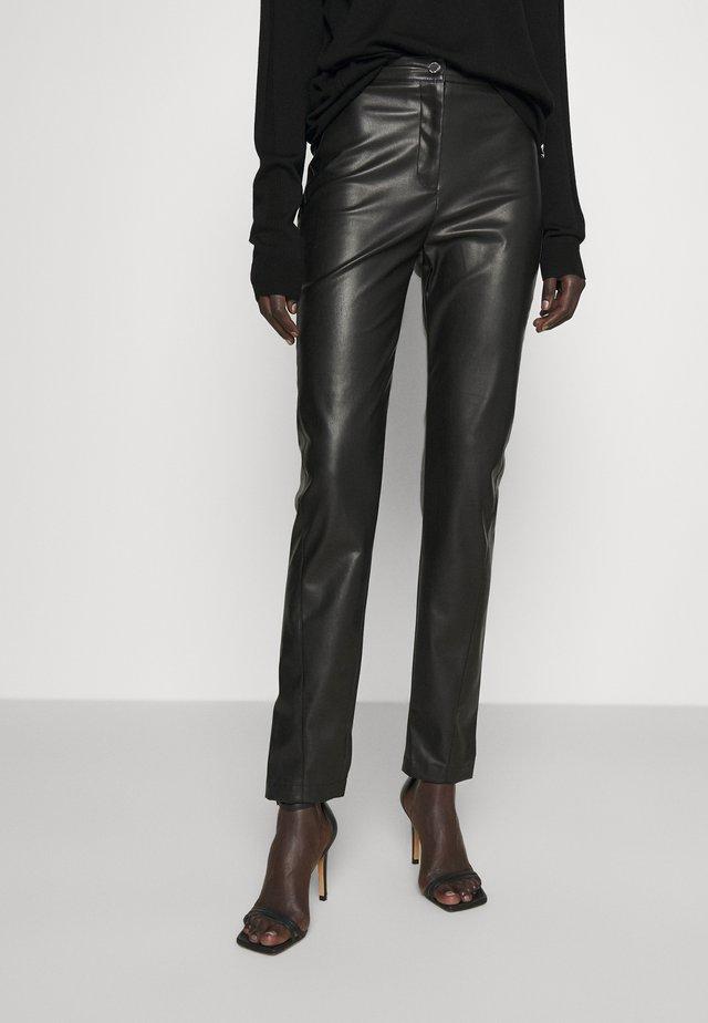 PANTALONI TROUS SOFT - Spodnie materiałowe - nero