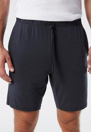 KURZE HOSE AUS SEIDE UND MODAL - Shorts - blue