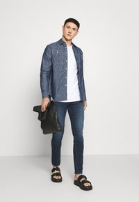 G-Star - KINEC STRAIGHT SHIRT L\S - Overhemd - faded blue - 1
