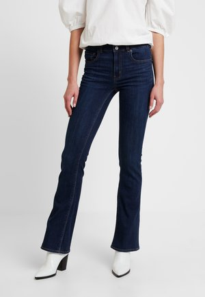 ARTIST - Flared Jeans - coldwater rinse