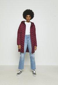 Hollister Co. - Winter coat - burgundy - 1