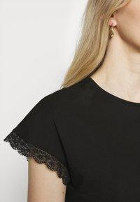 Anna Field - T-shirts - black - 5