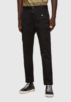 P-COR - Cargo trousers - black