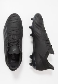 adidas Performance - PREDATOR 20.2 FG - Moulded stud football boots - core black/dough solid grey - 1