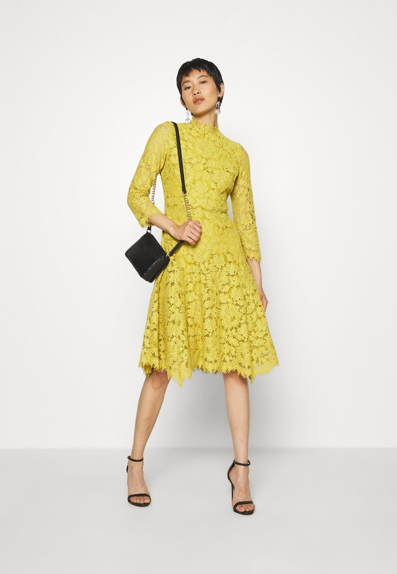 dress - cocktailkleid/festliches kleid - mustard yellow