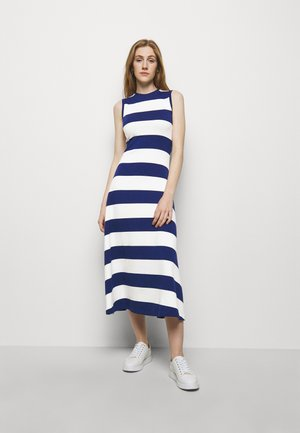 Jersey dress - holiday navy