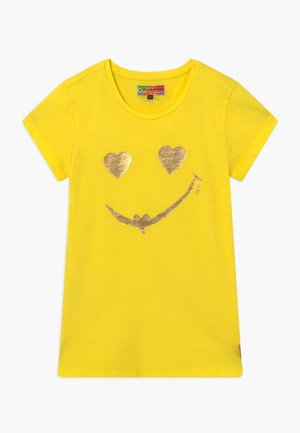 HELAINE - T-shirt med print - bright yellow