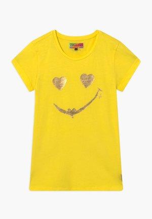 HELAINE - Triko spotiskem - bright yellow